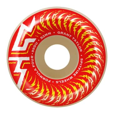 Spitfire Wheels - Taylor Pro OG Classic Formula Four Wheels 99a 53mm