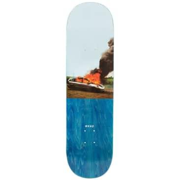 "WKND Van On Fire Skateboard Deck - 8.5"""