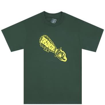 Bronze 56k Chainsaw T-Shirt - Forest Green