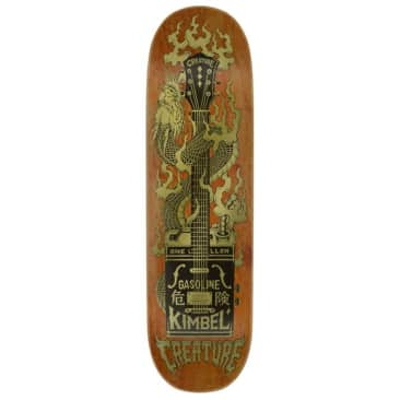 """Creature Skateboards - Willis Kimbel Gas Can flame Deck 9"""" Wide"""