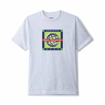 Butter Goods - Athletic Gear Tee - Ash Grey