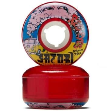 Satori Red Eyes Cruiser Wheels 78a 54mm