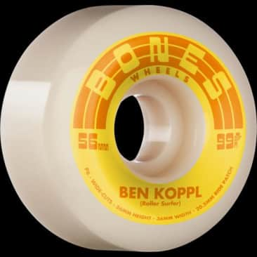 Bones Rollersurfer V6 Wide Cut 99A 56mm