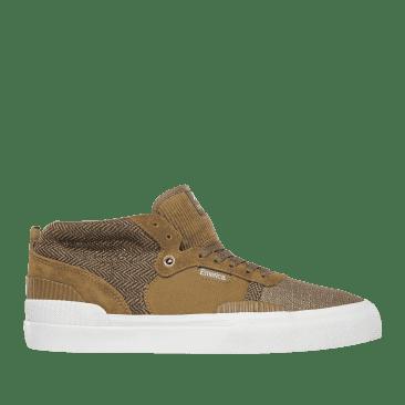 Emerica Pillar Skate Shoes - Brown
