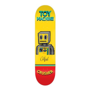 "Toy Machine Axel Pen & Ink 8"" Deck"