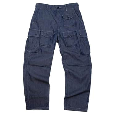Engineered Garments FA Pant 8oz Cone Denim - Indigo