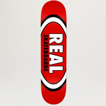Real Classic Oval Red 8.12