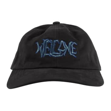 Welcome Skateboards Black Lodge Dad Hat (Black)