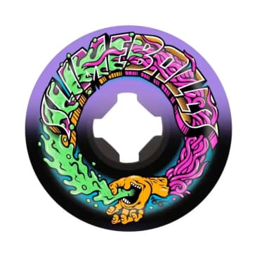 Slime Balls Brains Speed Balls Swirl Wheels Blue/Purple 99a - 54mm