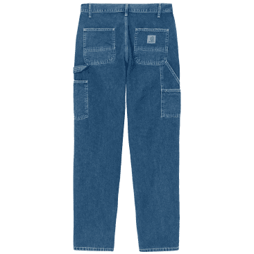 Carhartt WIP Ruck Single Knee Pant - Blue (Stone Washed)