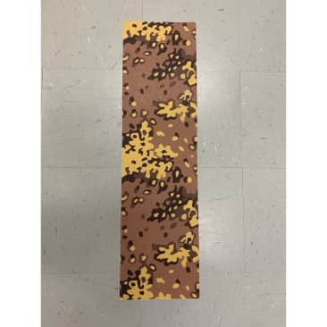 """Grizzly Griptape 9"""" Camo Bear Cutout Perforated Sheet"""