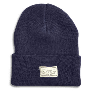 No-Comply Locally Grown Beanie Navy