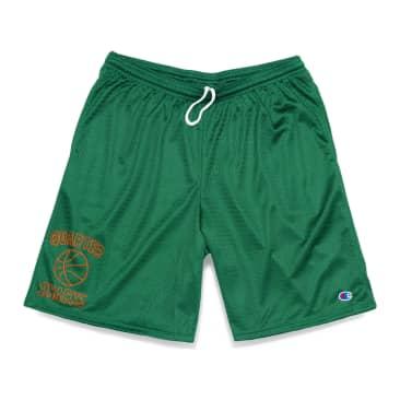 Quartersnacks Ball Is Life Mesh Shorts - Hunter Green