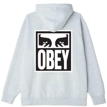 OBEY Eyes Icon 2 Hooded Sweatshirt - Grey