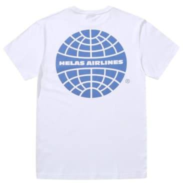 Hélas Airlines T-Shirt - White