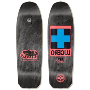 "Black Label - Lucero ""Cross"" Black Stain Deck (10"")"