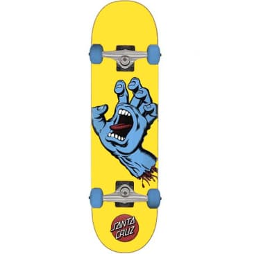 SANTA CRUZ COMPLETE SCREAMING HAND MINI - 7.75x30