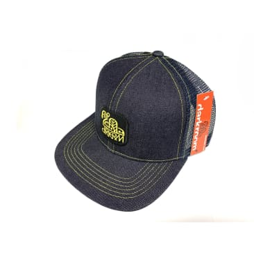 Darkroom Skateboards Denim Speed Mesh Hat