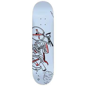 "Krooked Skateboards - Ronnie Sandoval Racer K Deck 8.25"" wide"