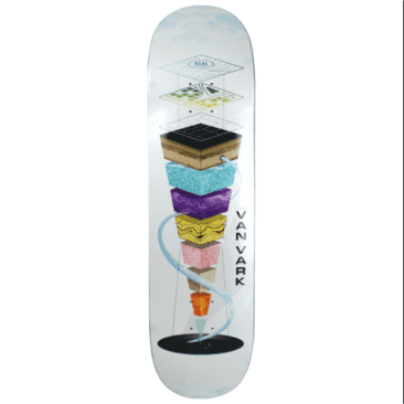 Real - Van Vark Topography Deck 8.25