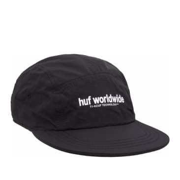 HUF Peak Reversible Volley Cap - Black / Leopard