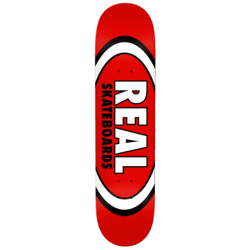 "Real | 8.125"" Classic Oval – Red"