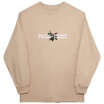 Pass~Port Olive Puff Print Long Sleeve Shirt - Sand