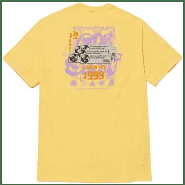 HUF Crash T-Shirt - Washed Yellow