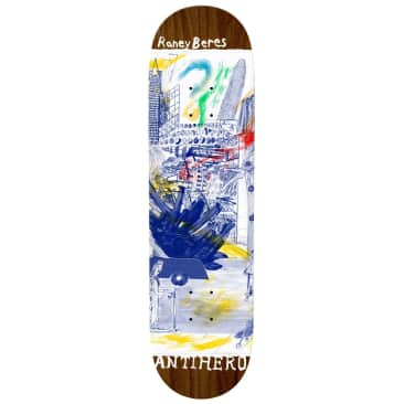"""Anti Hero Skateboards - 8.12"""" Raney Beres SF Then And Now Deck"""