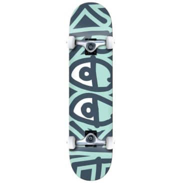 """Krooked Skateboards Big Eyes Too Green Complete Skateboard 8"""""""