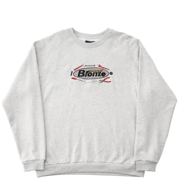 Bronze 56k Tool Time Crewneck Sweatshirt - Ash Grey