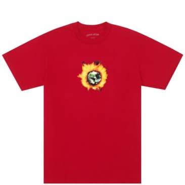 Fucking Awesome Angel Burn T-Shirt - Red