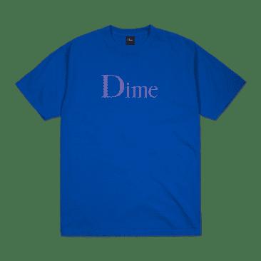 Dime MTL Classic Logo Shirt - Cobalt