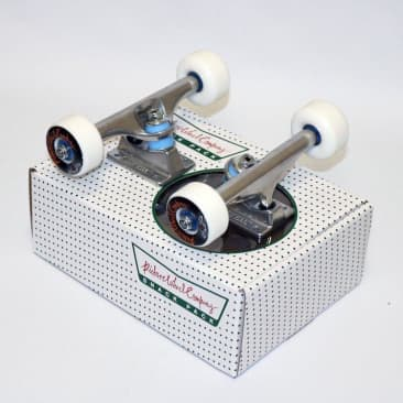 "Picture Wheel Co Snack Pack Skateboard Trucks Assembly Bundle 5.25"""