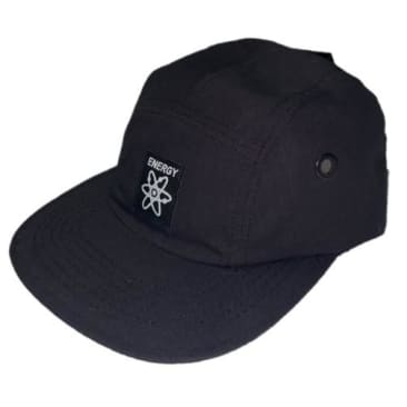 Energy Skate Shop OG Logo 5-Panel Hat (Black)