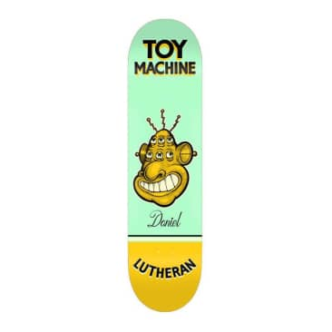 "Toy Machine Lutheran Pen & Ink 7.75"" Deck"