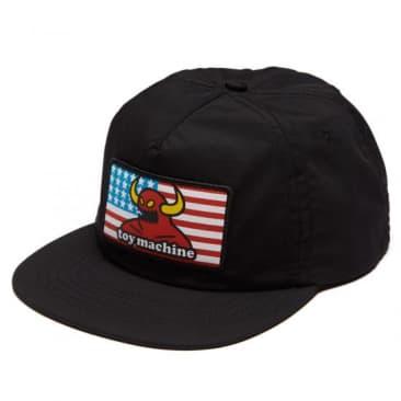 TOY MACHINE American Monster Hat Black