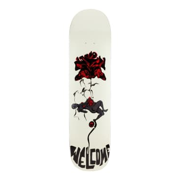 Welcome Lessrach on Bunyip Mid Skateboard Deck - 8.25""