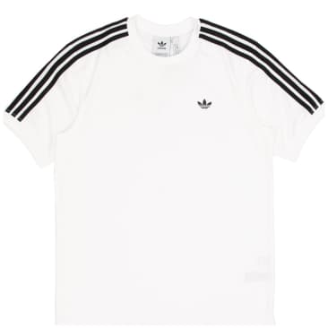 adidas Aero Club Jersey T-Shirt - White / Black