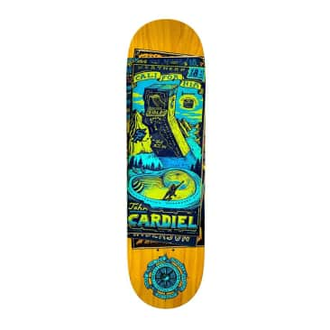 "Anti-Hero Cardiel Maps to the Skaters Homes 8.6"" Deck"