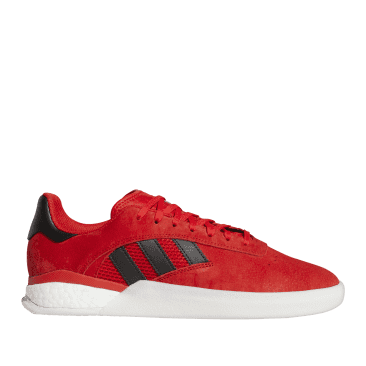 adidas Skateboarding 3ST.004 Shoes - Vivid Red / Core Black / Cloud White