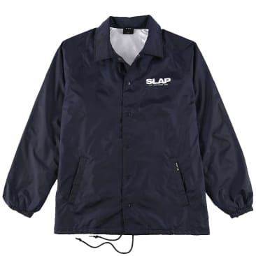 HUF x Slap Coach Jacket - Navy