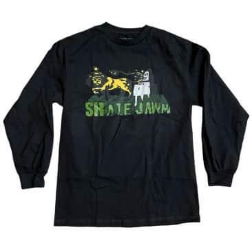 Skate Jawn Longsleeve Tee Lion Black