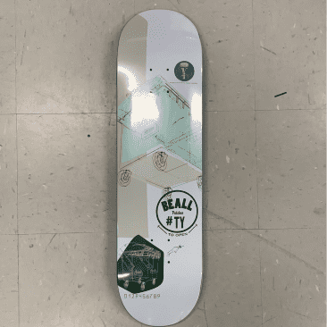Scumco and Sons Skateboards Ty Beall Dumpster Diver Deck 8.375