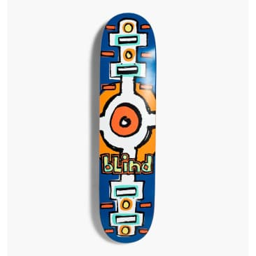 Blind Skateboards Round Space V2 RHM Navy Skateboard Deck - 7.00