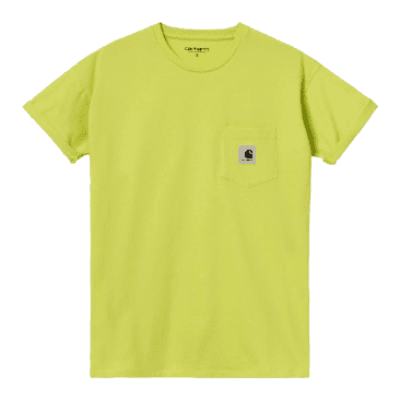 Carhartt WIP Women's Pocket T-Shirt - Limeade