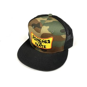 Dogtown Skateboards Possessed to Skate SnapBack Mesh Hat Camo