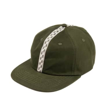 Pass~Port Auto Ribbon 6 Panel Cap - Green