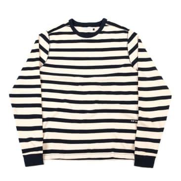 Pop Trading Company Miffy Striped Long Sleeve - Black/White