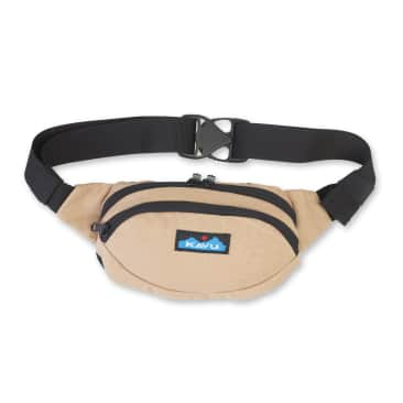 Kavu Canvas Spectator Belt Bag - Heritage Khaki